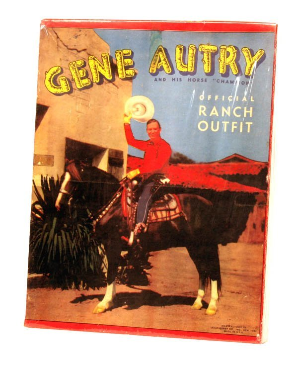 179: Gene Autry Ranch Outfit Box Only.