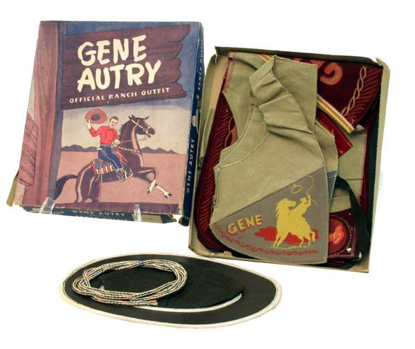 182: Gene Autry Official Ranch Outfit in O.B.