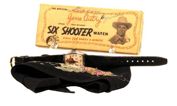 188: Lot of 2 Gene Autry Items.