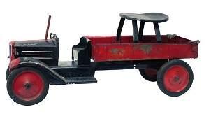 333: Large Keystone Ride-On Dump Truck.