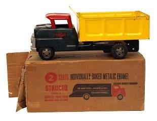 Structo Dump Truck No. 201.