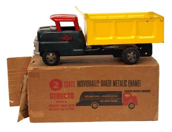 605: Structo Dump Truck No. 201.