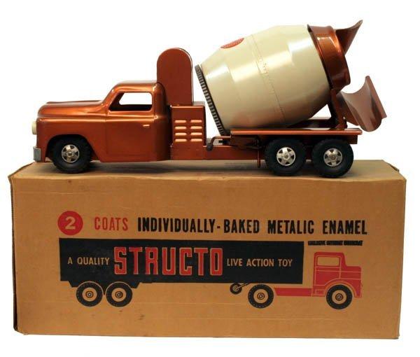 606: Structo Cement Truck.