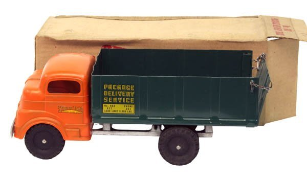 608: Structo Package Delivery Truck.