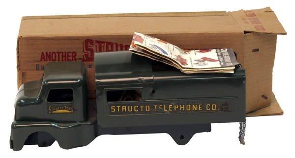 612: Structo Telephone Truck.