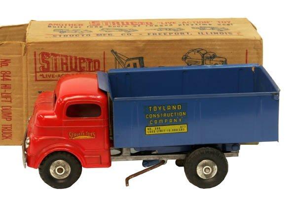 613: Structo Hi-Lift Dump Truck.