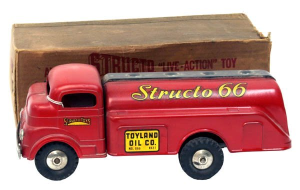 614: Structo Gasoline Truck.