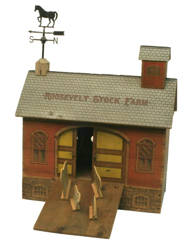 1382: Converse Roosevelt Stock Farm With Ramp.