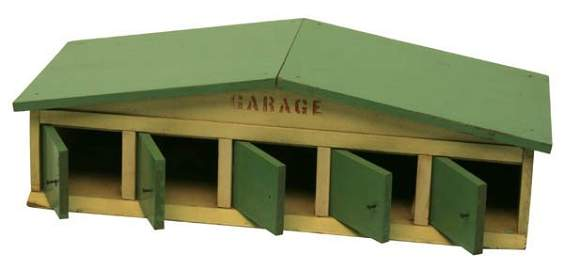 1512: Arcade Five-Stall Garage.