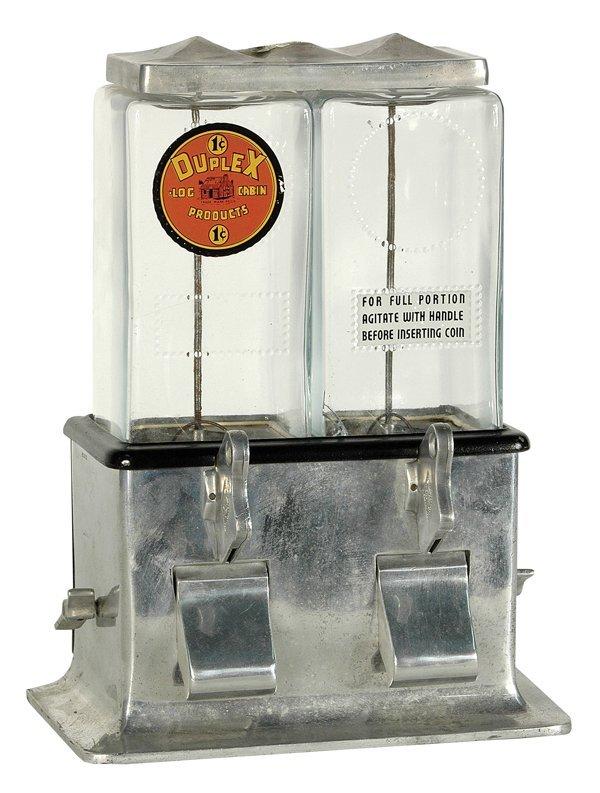 201: Duplex Gumball Vender.