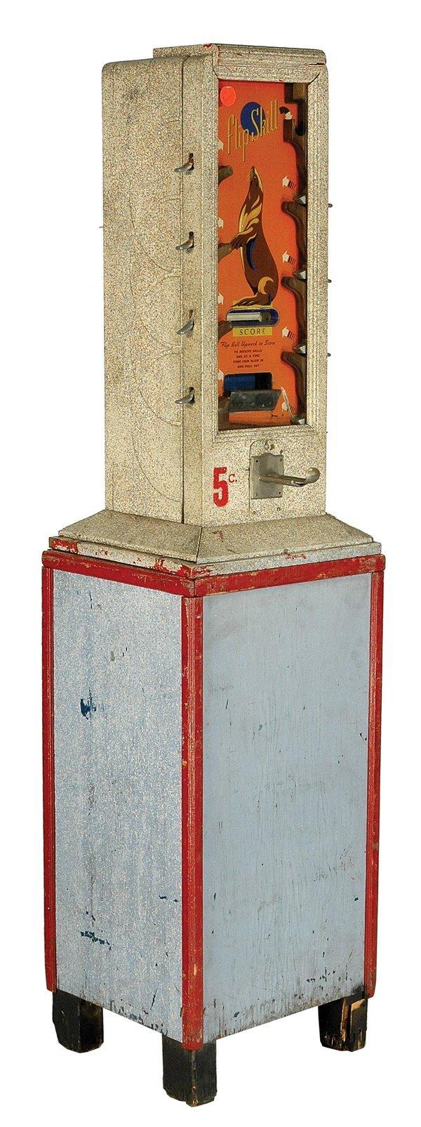 202: Flip Skill 5-Cent Machine.