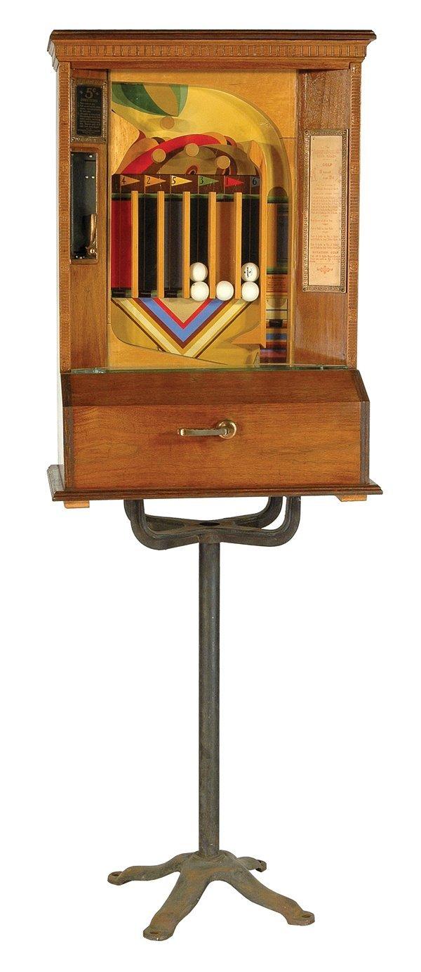 203: Aristocrat Gulf 5-Cent Machine.