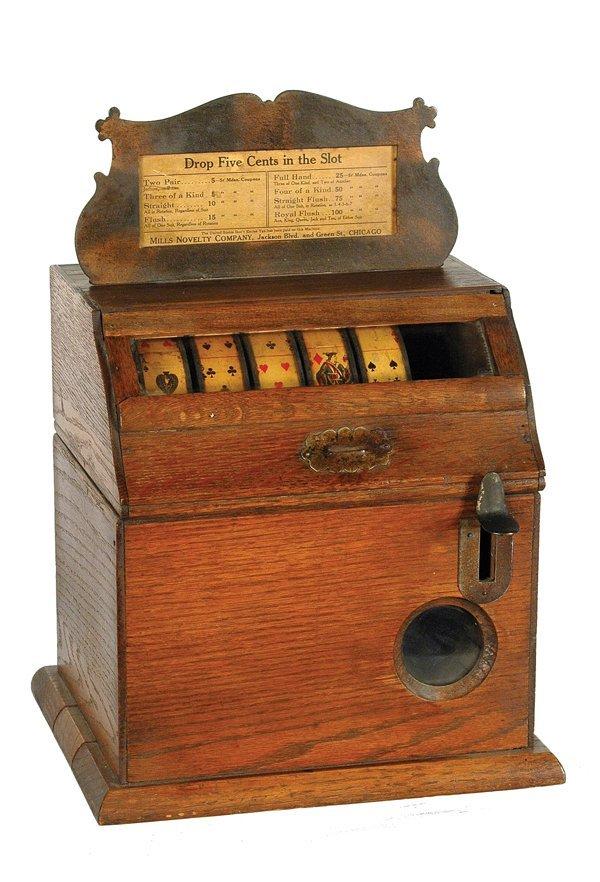 208: Mills Card Stimulator.
