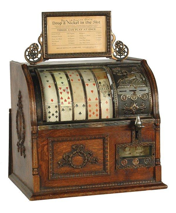 213: Mills Jockey Slot Machine.