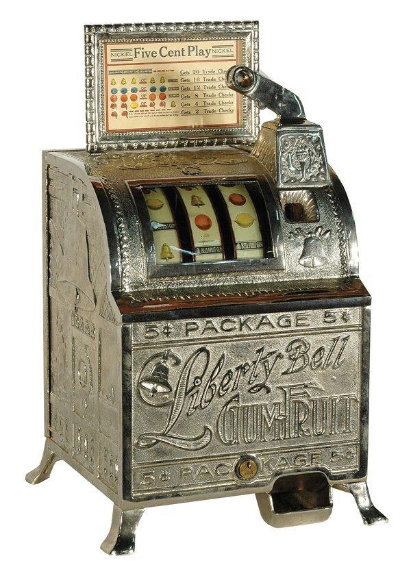 214: Mills Liberty Bell Slot Machine.
