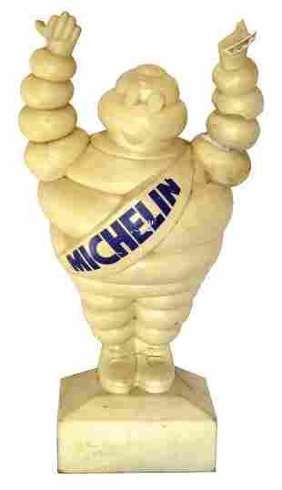 Michelin Man Sidewalk Display.