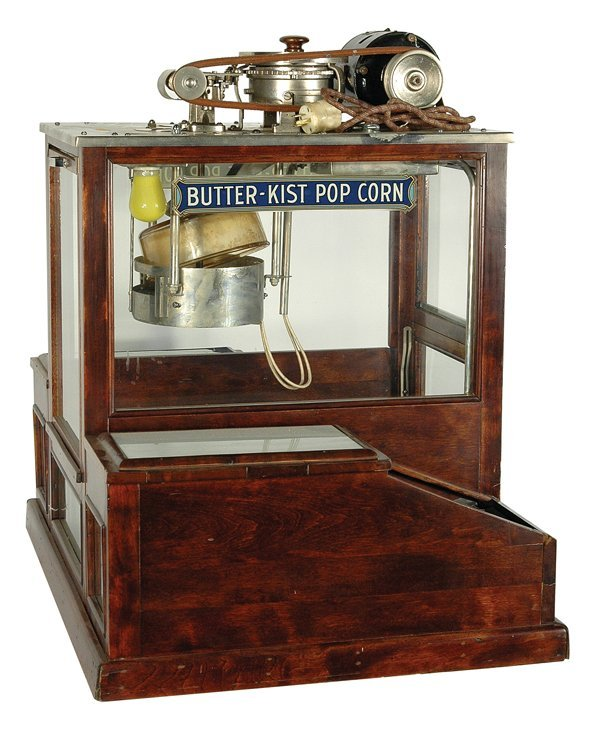495: Butter-Kist Popcorn Machine.