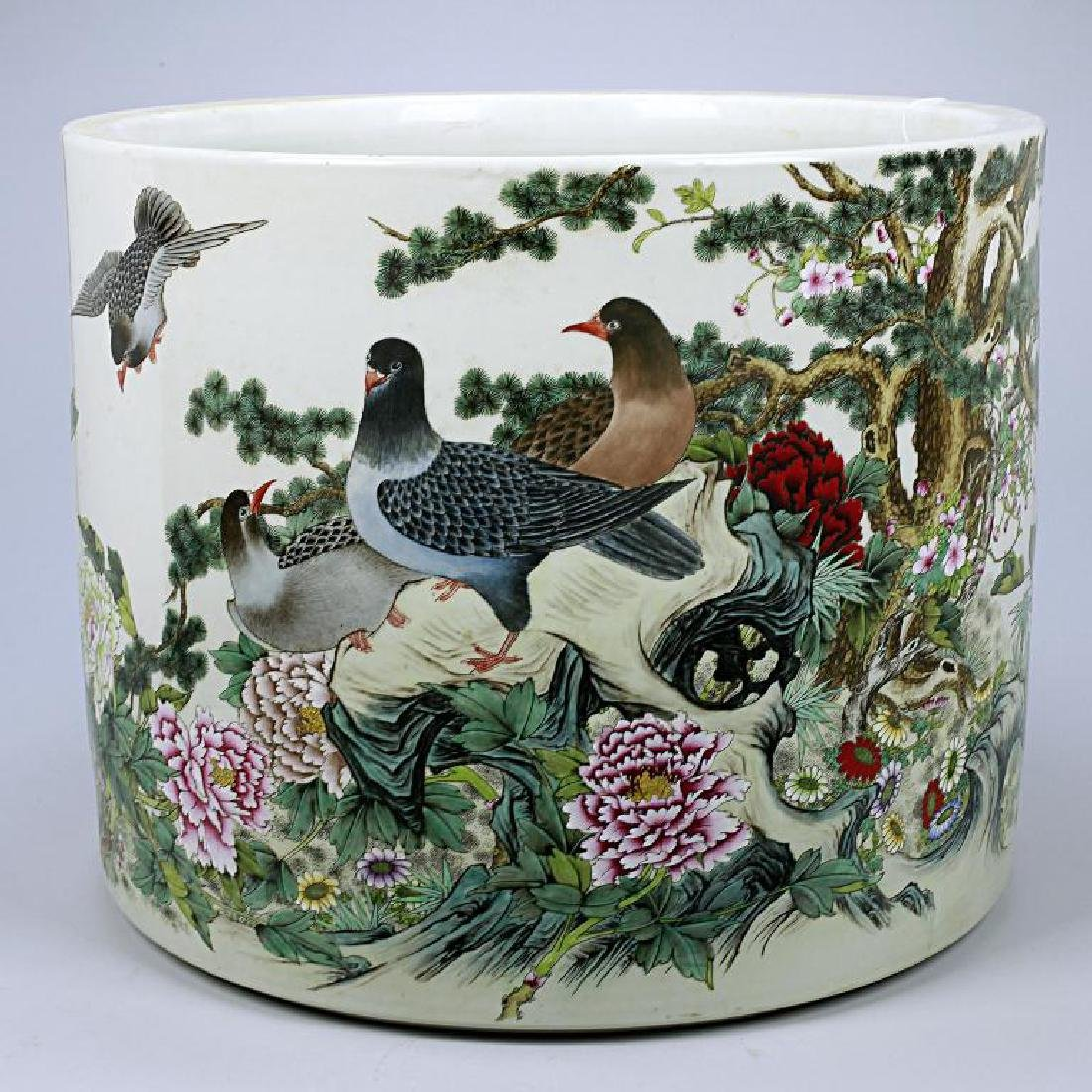 VERY LARGE CHINESE  JARDINIERE, REPUBLIC PERIOD