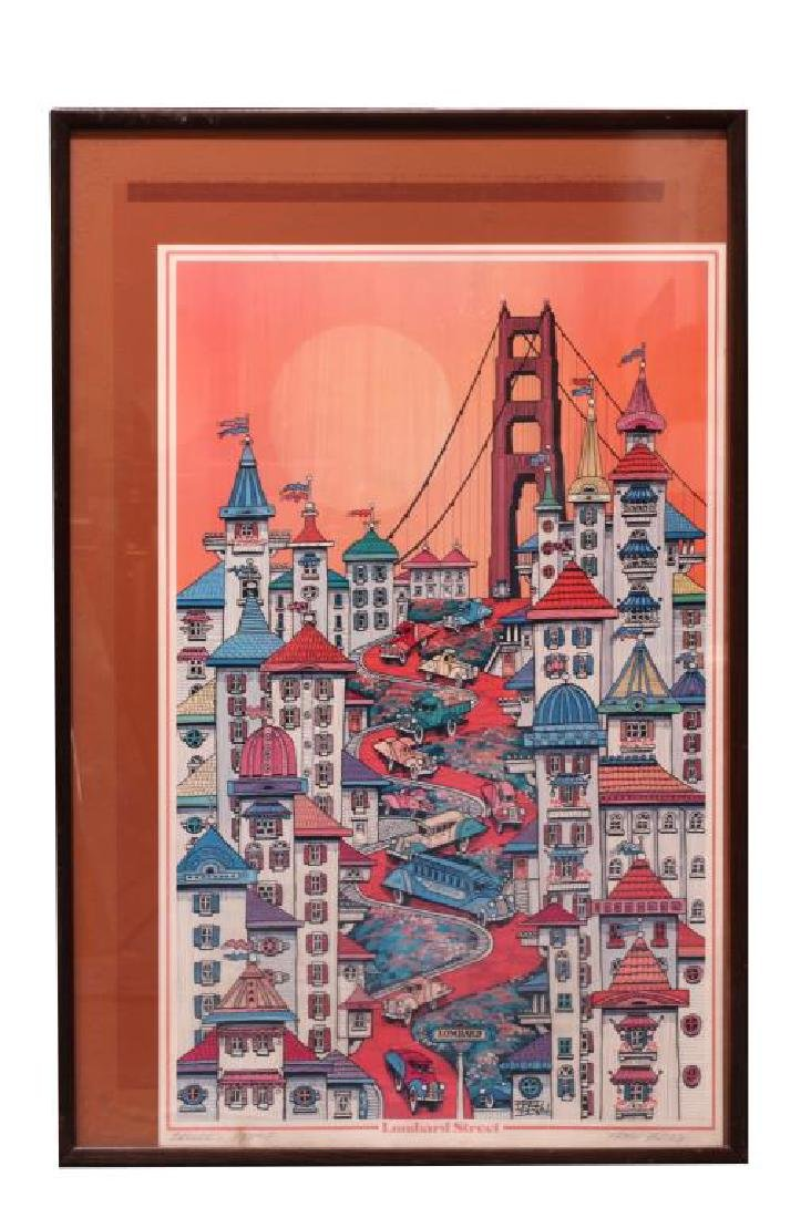 POSTER OF LOMBARD STREET