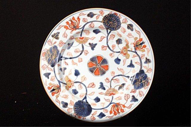 18TH CENTURY IMARI PORCELAIN PLATE