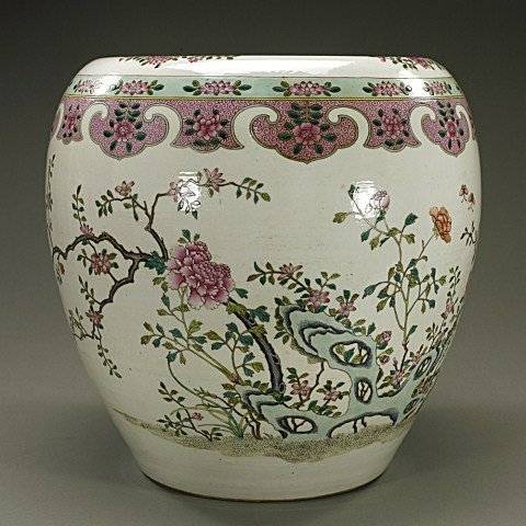 CHINESE FAMILLE ROSE JARDINIERE