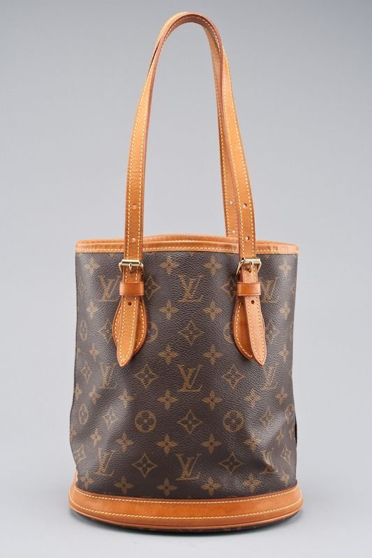 Louis Vuitton Monogram Canvas Petite Bucket Bag