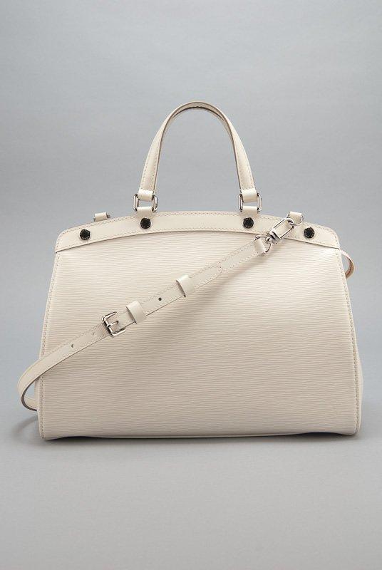 Louis Vuitton White Epi Leather Brea MM Bag