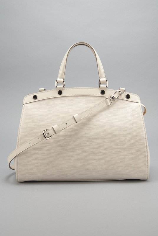 Louis Vuitton White Epi Leather Brea MM Bag