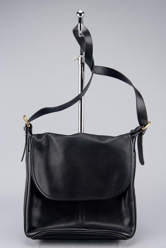 COACH BLACK LEATHER WHITNEY SHOULDER BAG