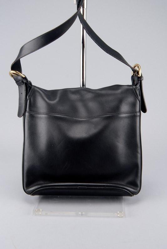 COACH BLACK LEATHER WHITNEY SHOULDER BAG - 2