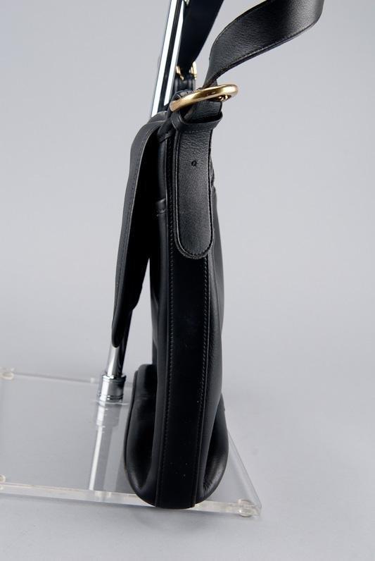 COACH BLACK LEATHER WHITNEY SHOULDER BAG - 3
