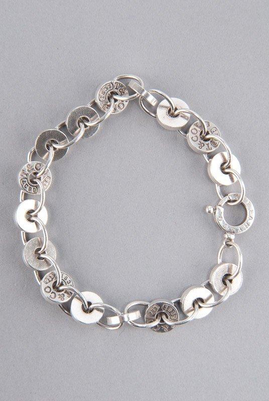 "Tiffany & Co. ""1837"" Sterling Silver Bracelet"