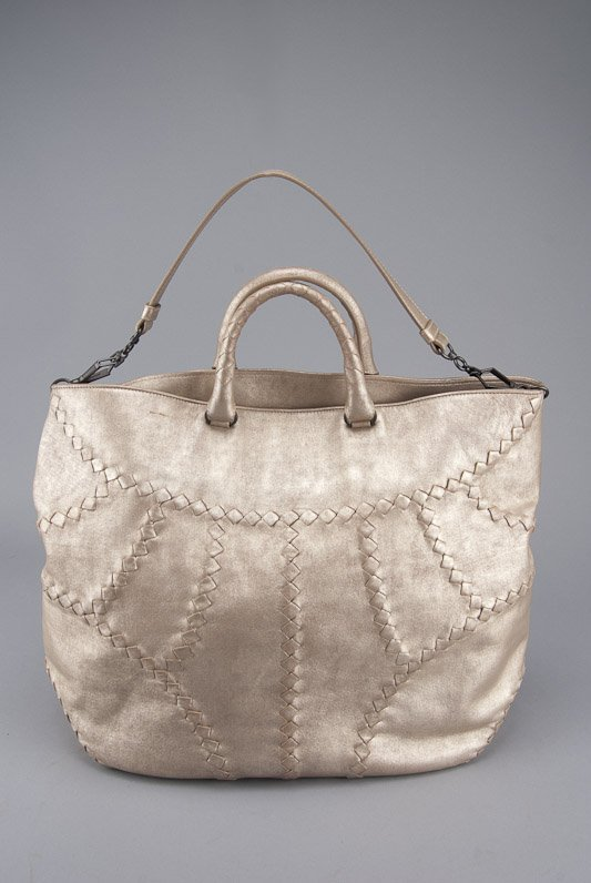 Bottega Veneta Metallic Mineral Hobo Bag
