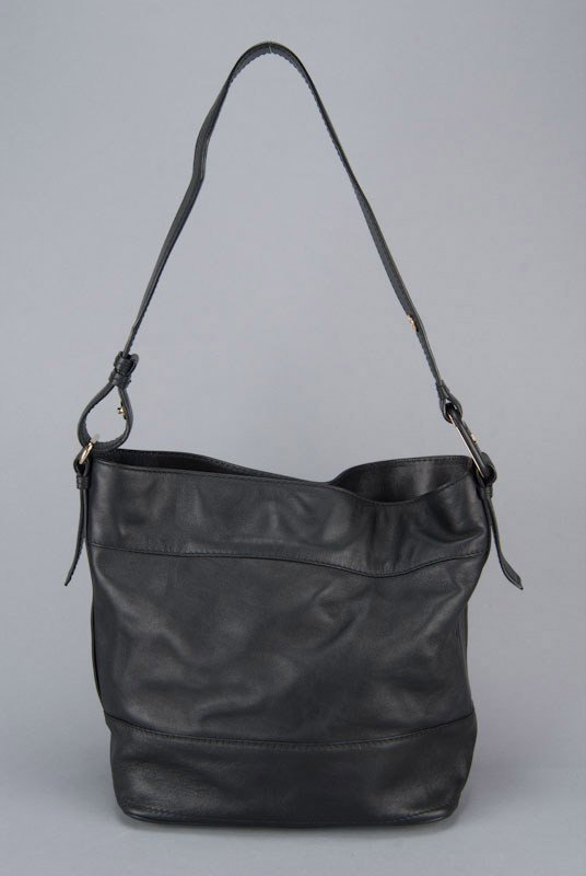 Salvatore Ferragamo Black Vara Bag