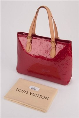 Louis Vuitton Vernis Large Pomme D'Amour Brentwood Bag - 9
