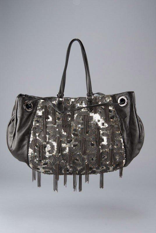 Valentino Garavani Graphic Sequin Chain Tote Bag