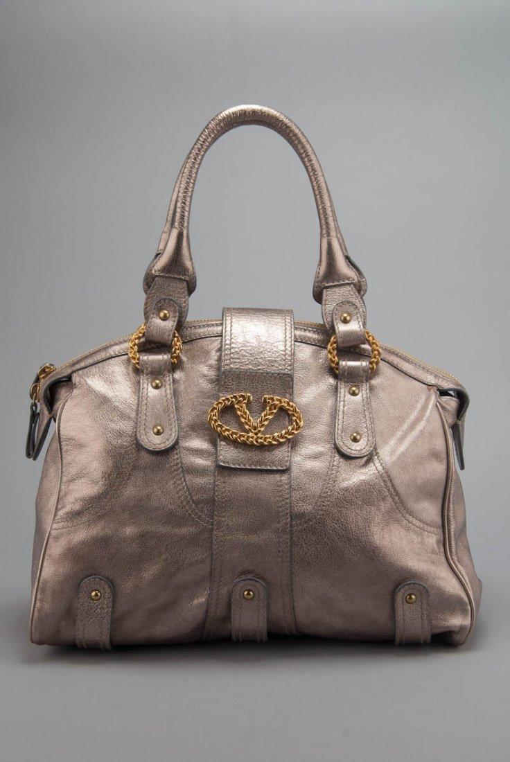 Valentino Kid Laminato Handbag