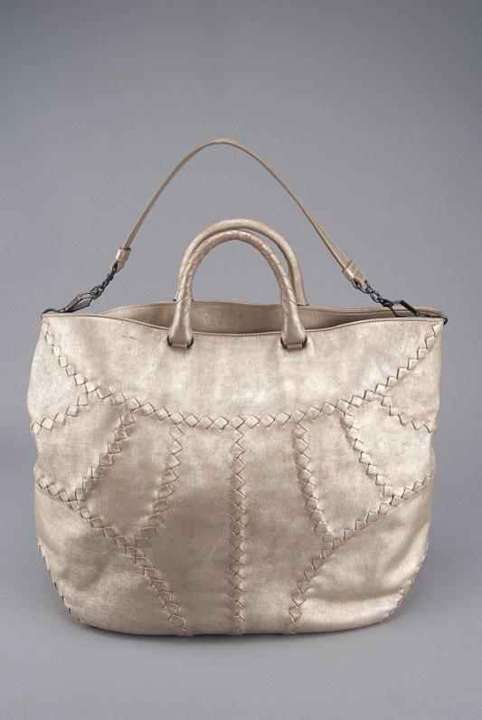 Bottega Veneta Metallic Mineral Hobo Bag