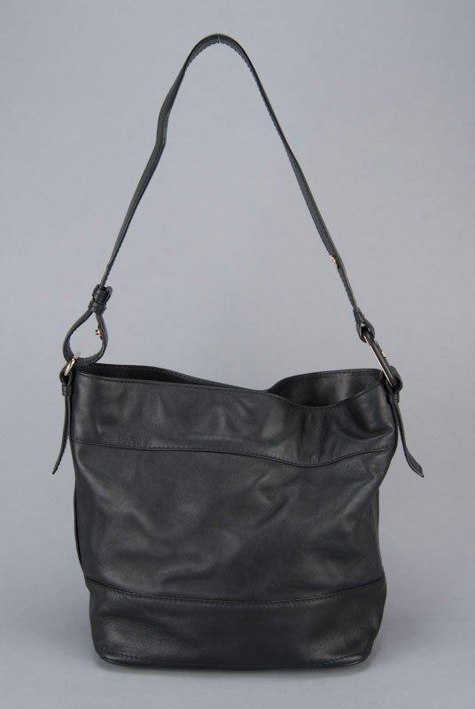 Salvatore Ferragamo Black Vara Bag