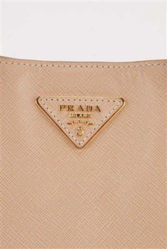 Prada Nude Saffiano Large Shopping Lux Tote Bag - 7