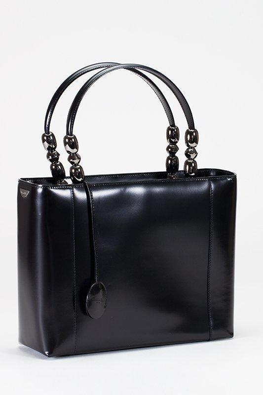 Christian Dior Black Medium Lady Dior Bag