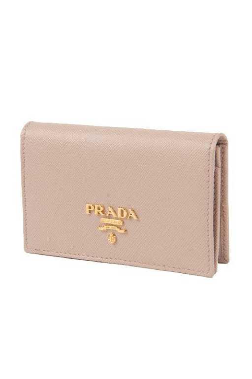 2140ca96da6 New Prada Blush Credit Card Snap Wallet