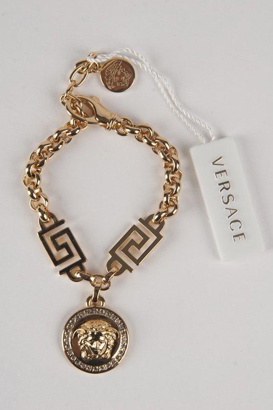 New Versace 2014 Medusa Swarovski Bracelet