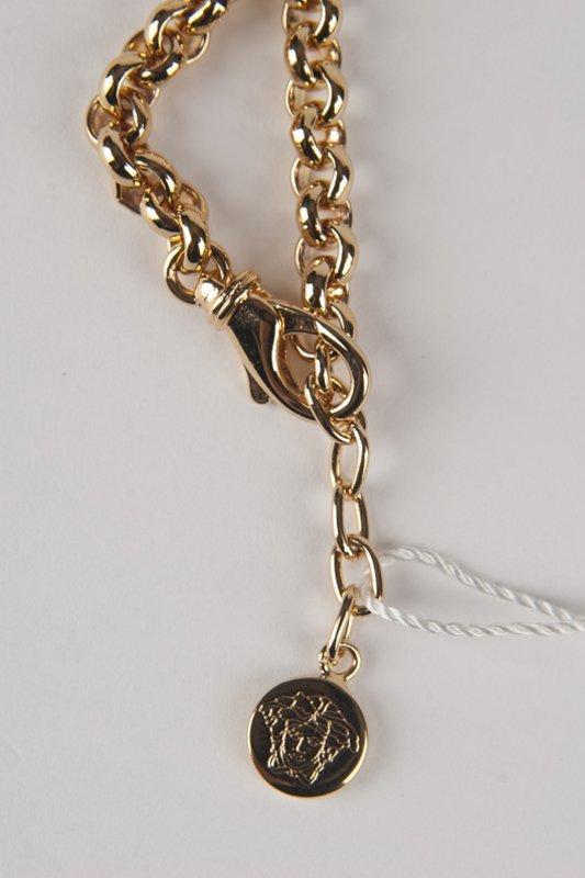 New Versace 2014 Medusa Swarovski Bracelet - 3