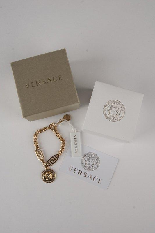 New Versace 2014 Medusa Swarovski Bracelet - 5
