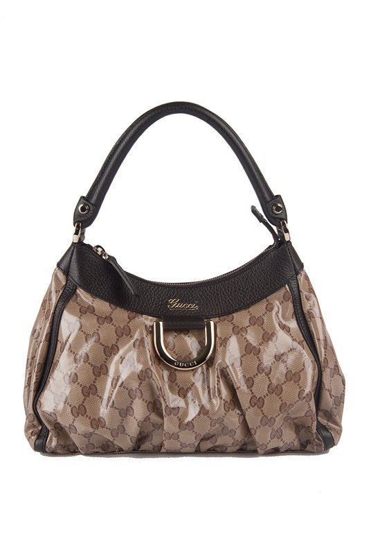 """New Gucci """"Crystal Collection"""" Small D-ring Hobo Bag"""