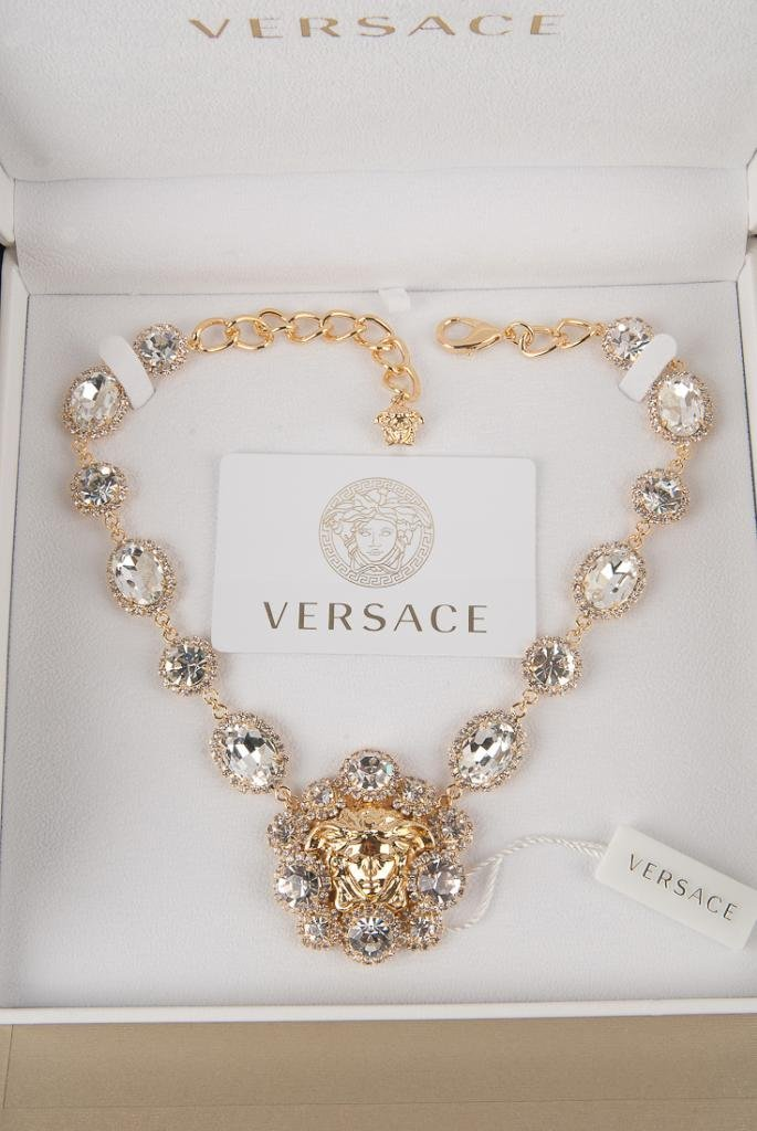 NEW VERSACE COUTURE RUNWAY LIMITED EDITION NECKLACE