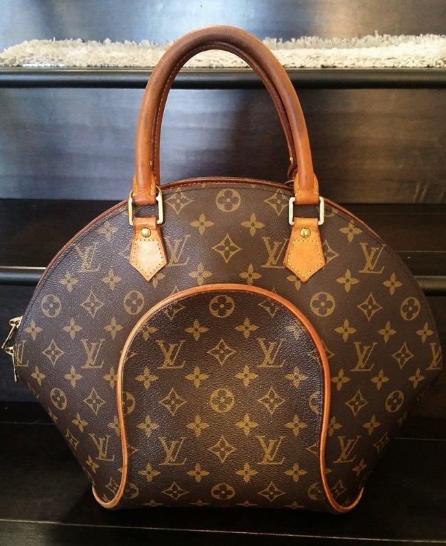 Authentic Louis Vuitton Ellipse Tote Bag