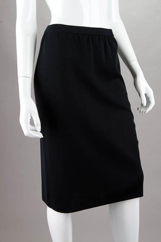 New Ming Wang Black Knit Skirt (M)