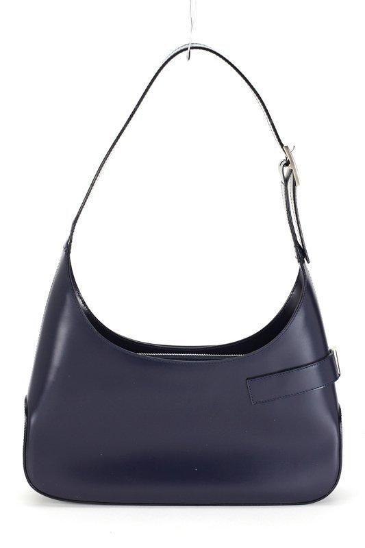 Salvatore Ferragamo Navy Blue Medium Hobo Bag - 4
